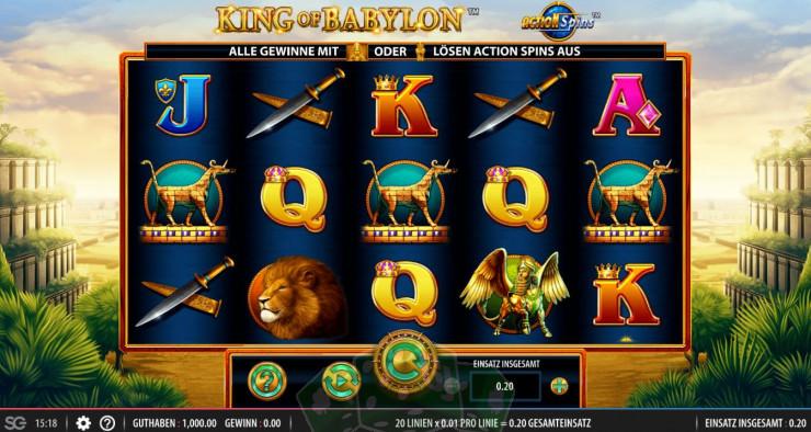 King of Babylon Titelbild