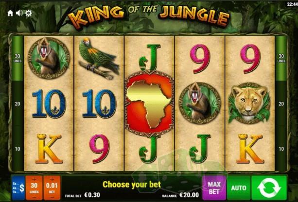 King of the Jungle Titelbild