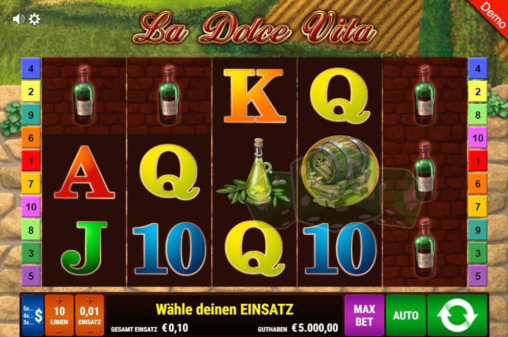 Spiele La Dolce Vita - Video Slots Online