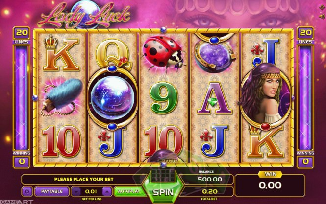 Lady Luck Titelbild