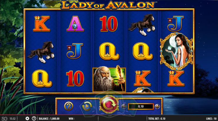 Lady of Avalon Titelbild