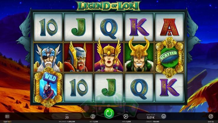 Legend of Loki Titelbild
