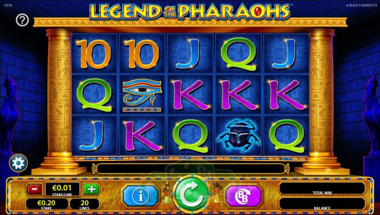 Legend of the Pharaohs Titelbild