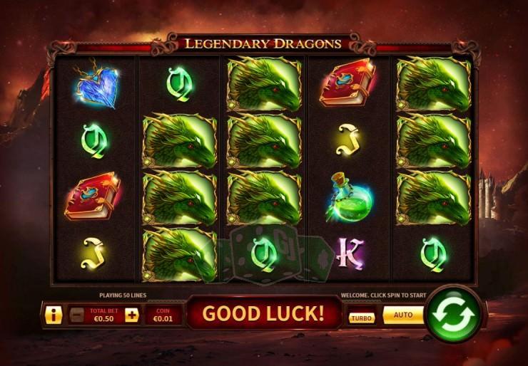 Legendary Dragons Titelbild