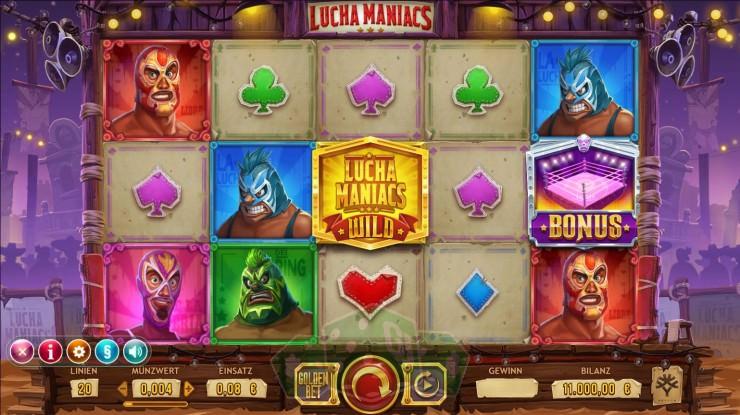 Lucha Maniacs Titelbild
