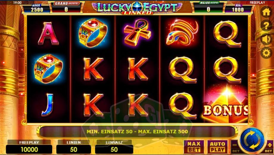 Lucky Egypt Titelbild