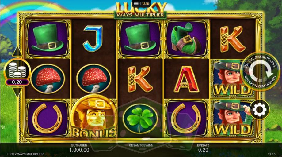 Lucky Ways Multiplier Titelbild