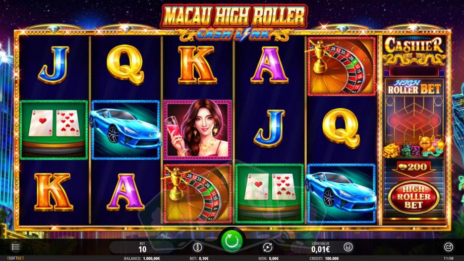 Macau High Roller Cash Link Titelbild