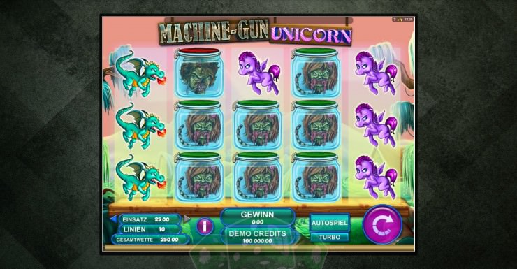 Machine-Gun Unicorn Titelbild