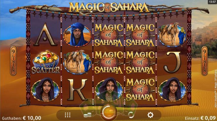 Magic of Sahara Titelbild