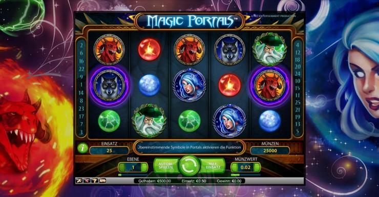 Magic Portals Titelbild
