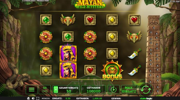 Mayan Wild Mystery Titelbild