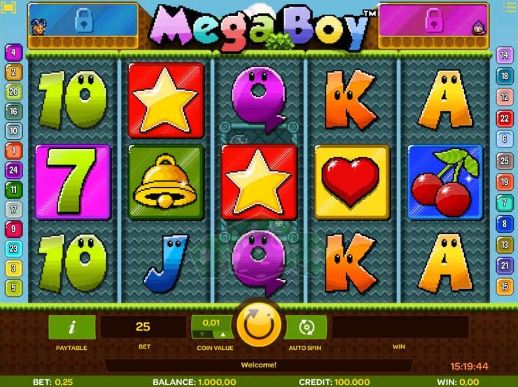 Mega Boy Titelbild