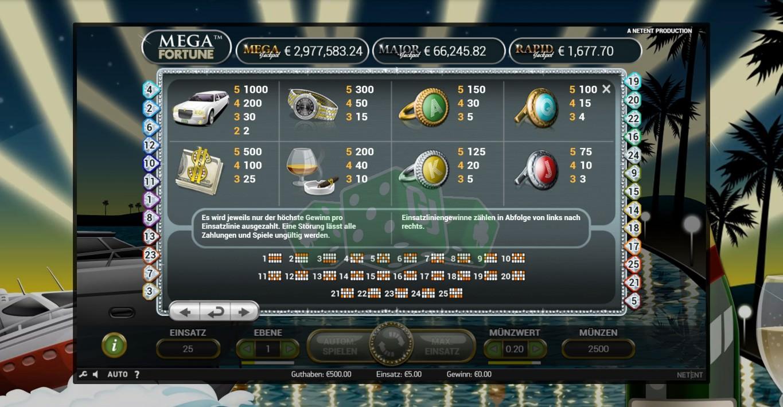 Mega Fortune Spielen Online - Beste Casinos Mit Freispiele 2021