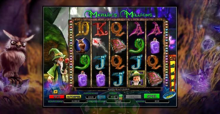 Merlin's Millions Titelbild