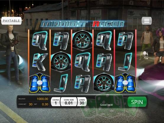 Midnight Racer Titelbild