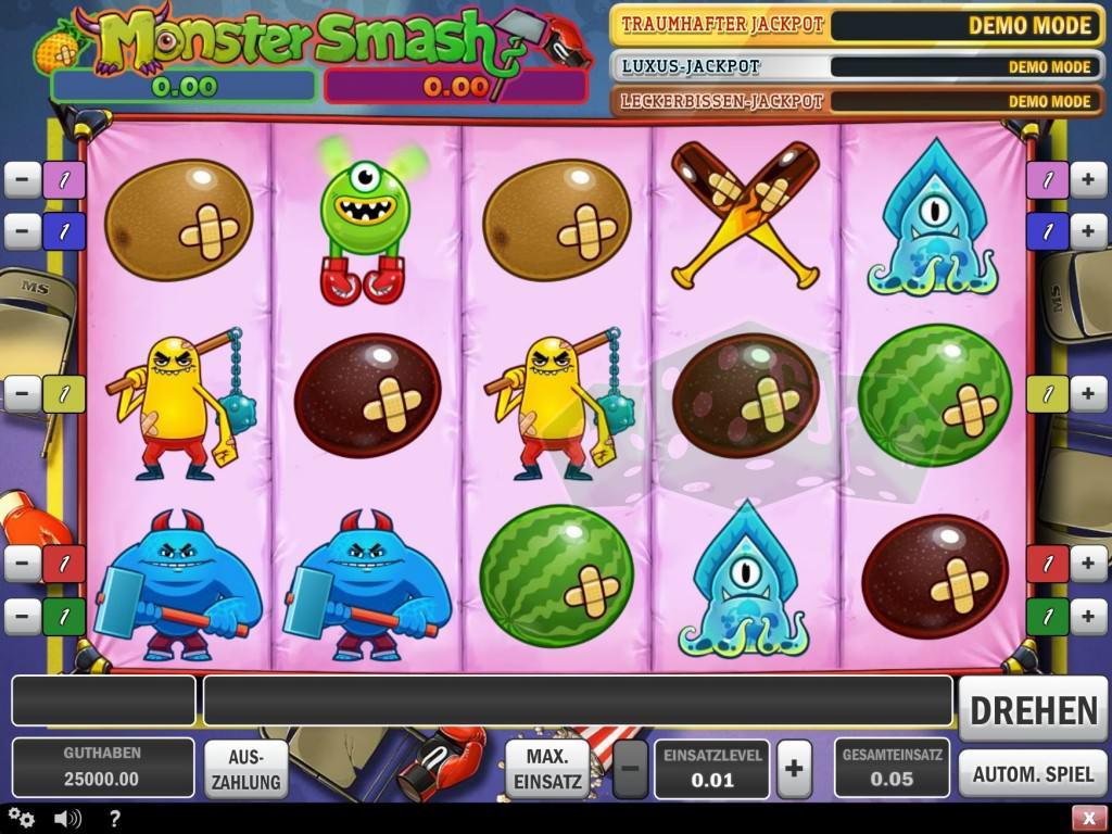 Monster Spiele Online
