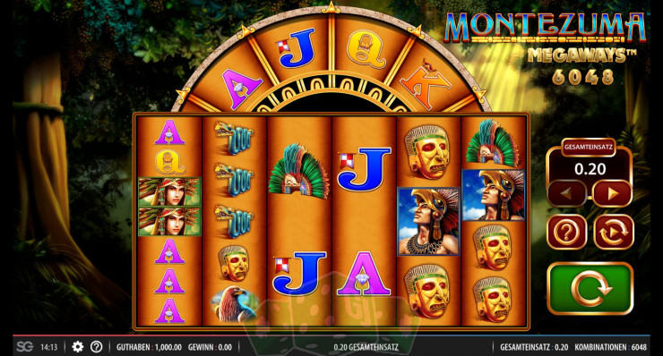 Montezuma Megaways Titelbild