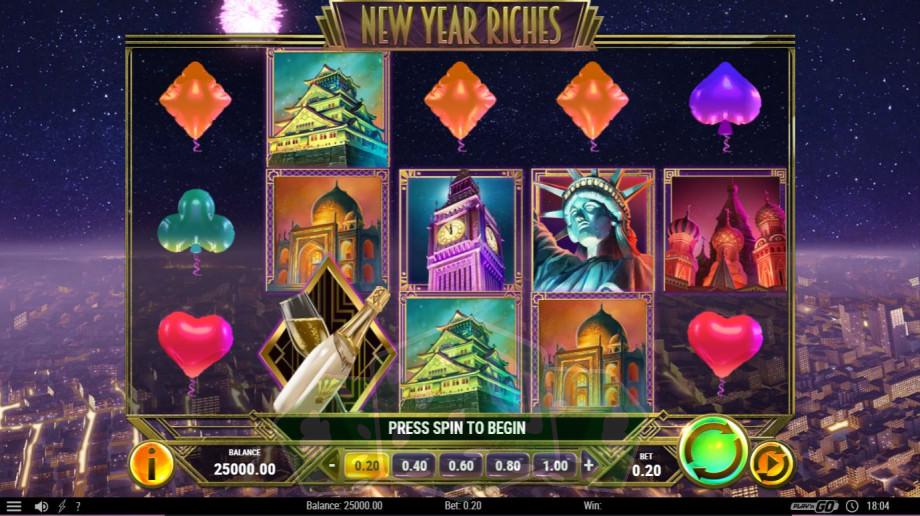 New Year Riches Titelbild