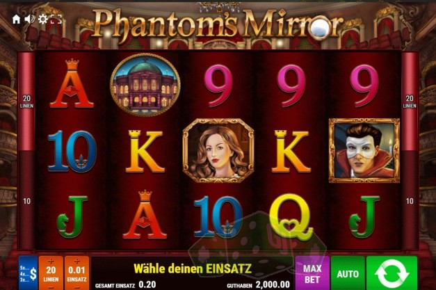 Phantom's Mirror Titelbild