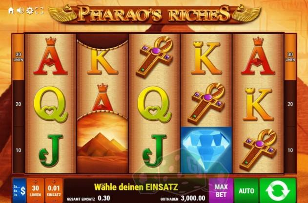 Pharao's Riches Titelbild