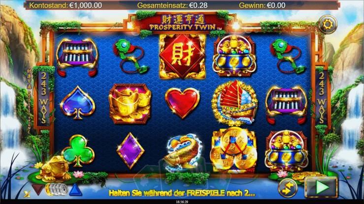 Spielen Sie Prosperity Twin kostenlos im Demo Mode von Nextgen Gaming