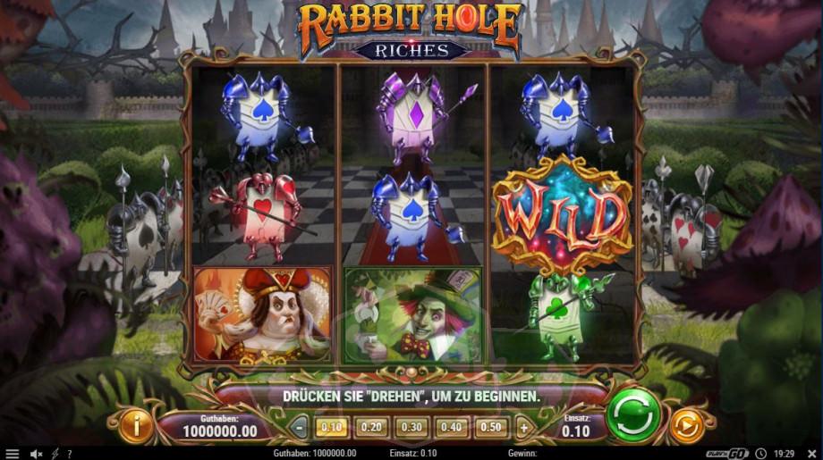 Rabbit Hole Riches Titelbild