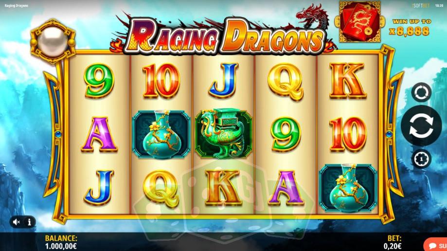 Raging Dragons Titelbild