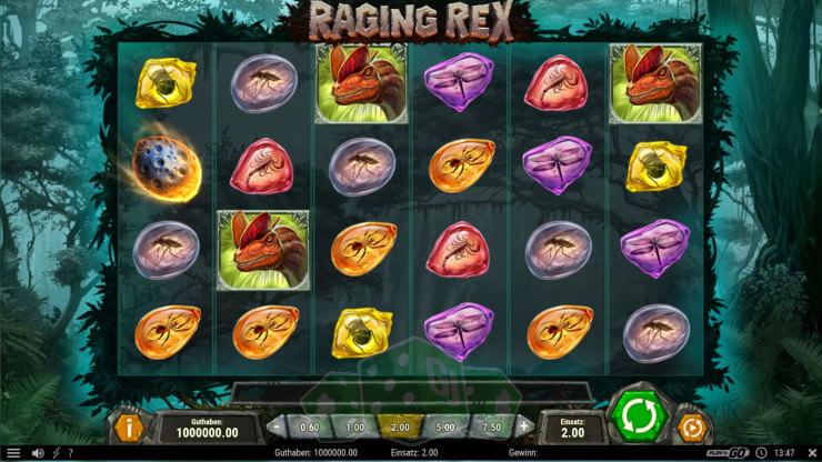 Raging Rex Titelbild