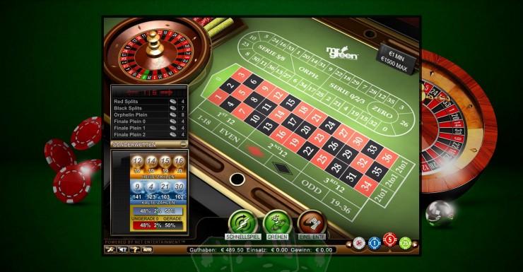Roulette High Roller Titelbild