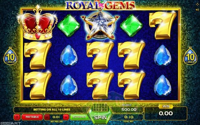 Royal Gems - Gameart Titelbild