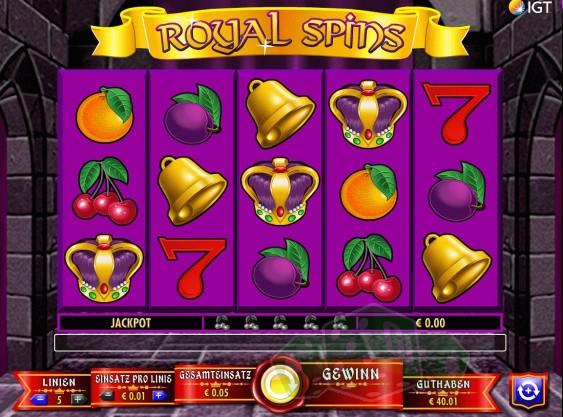 Royal Spins Titelbild