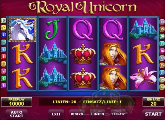 royal unicorn™ amatic  jetzt online spielen