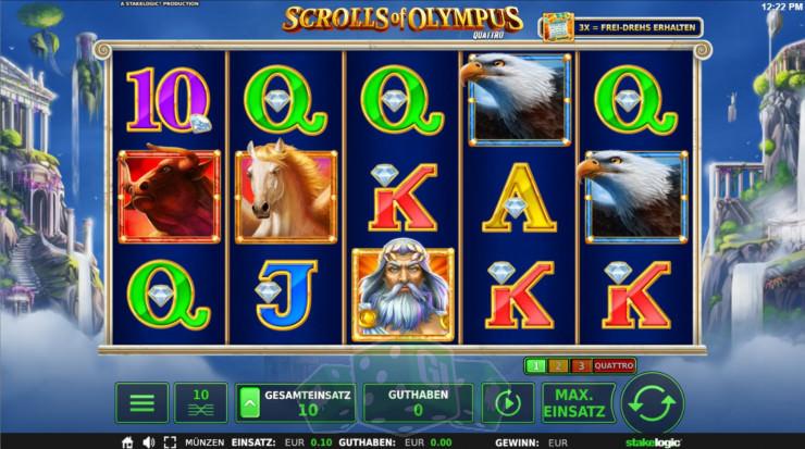 Scrolls of Olympus Titelbild