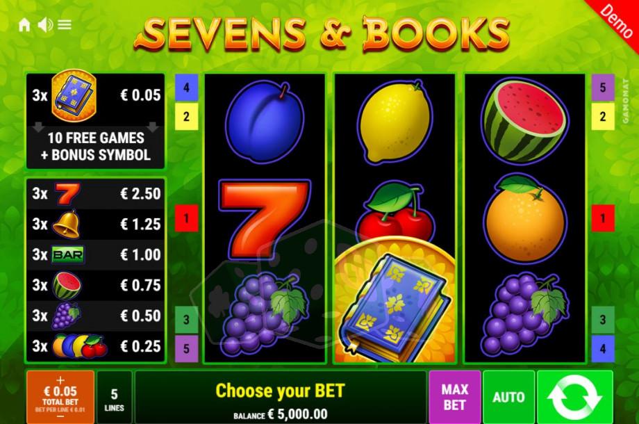 Sevens & Books Titelbild