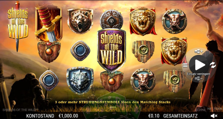 Shields of the Wild Titelbild