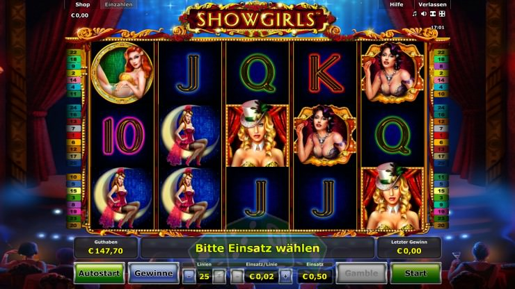 Showgirls Titelbild