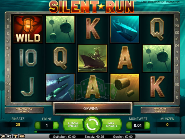 Silent Run Titelbild