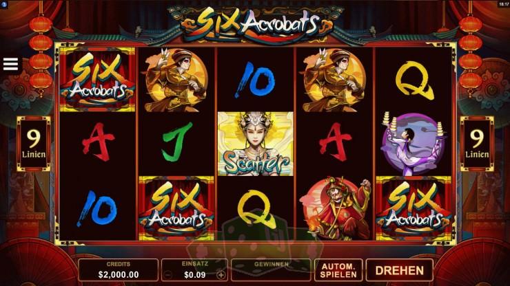 Six Acrobats Titelbild