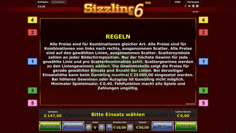 Sizzling Online Spielen