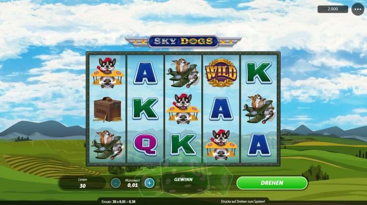 Sky Dogs Titelbild