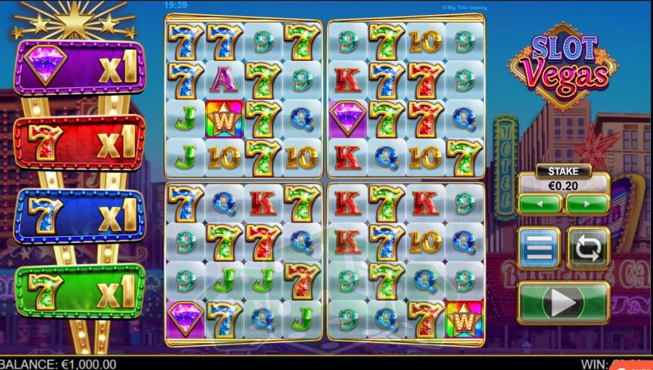 Slot Vegas Megaquads Titelbild