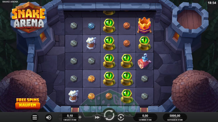 Snake Arena Titelbild