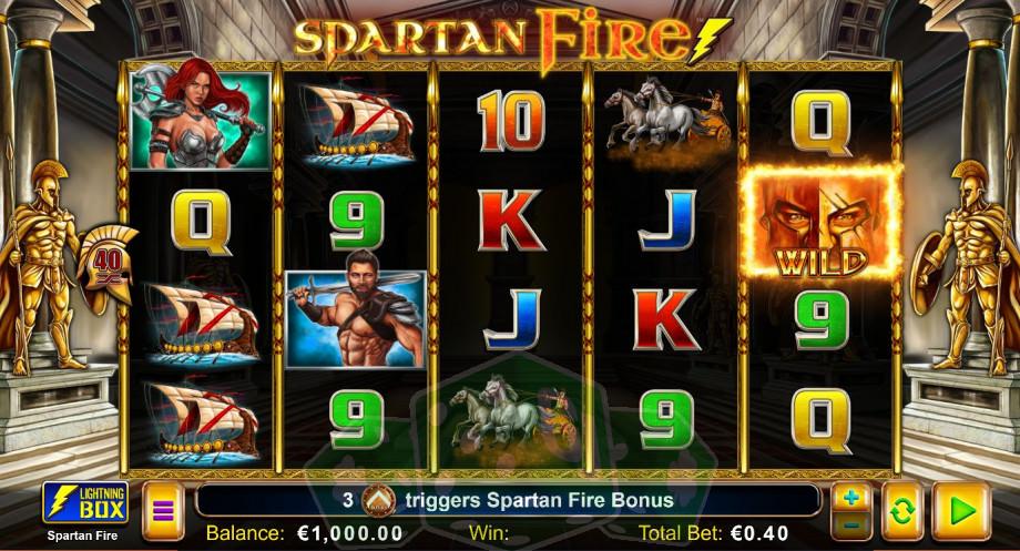 Spartan Fire Titelbild