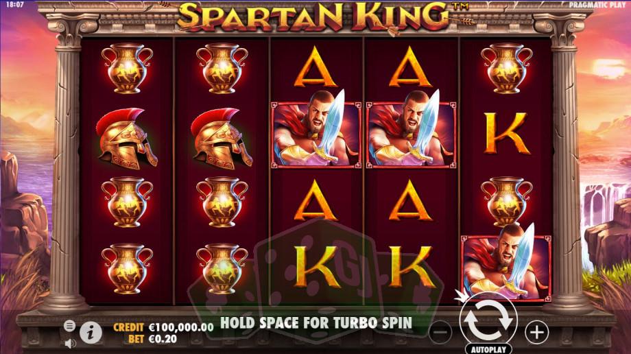 Spartan King Titelbild