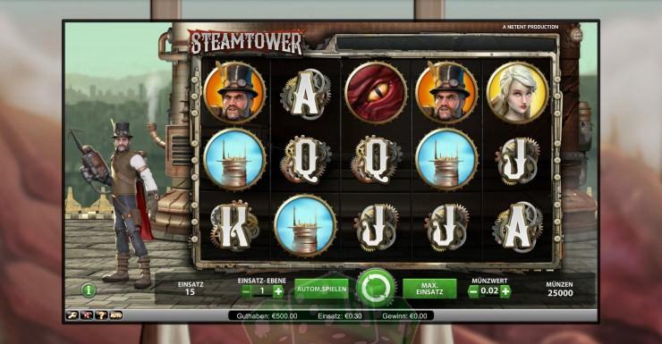 Steam Tower Titelbild