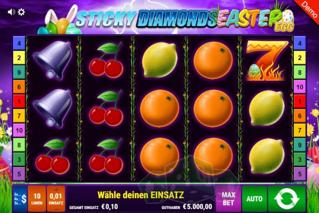 Sticky Diamonds Easter Egg Titelbild