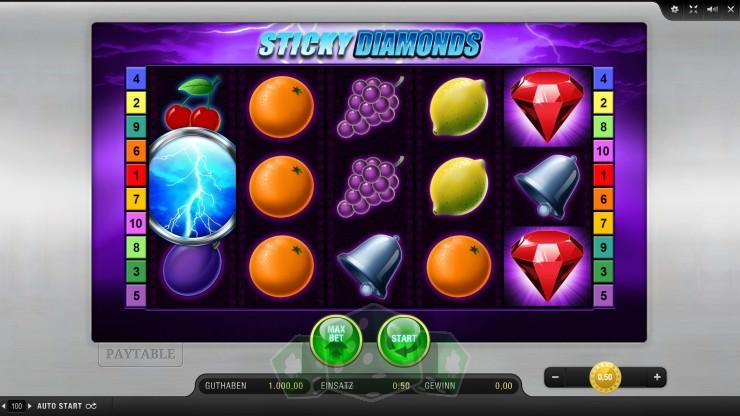 Sticky Diamonds Titelbild