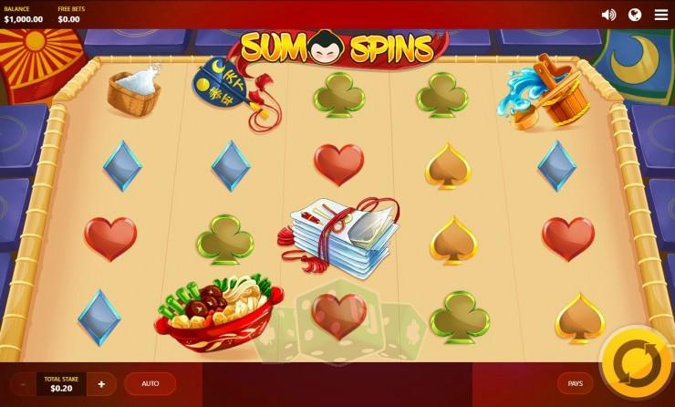 Sumo Spins Titelbild