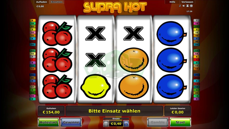 Supra Hot Gratis Online Spielen